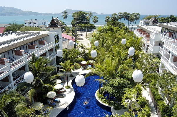 Sunset Beach Resort Phuket Hotel In Patong Beach Phuket